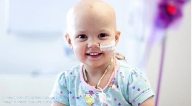 phương pháp điều trị ung thư máu ở trẻ em