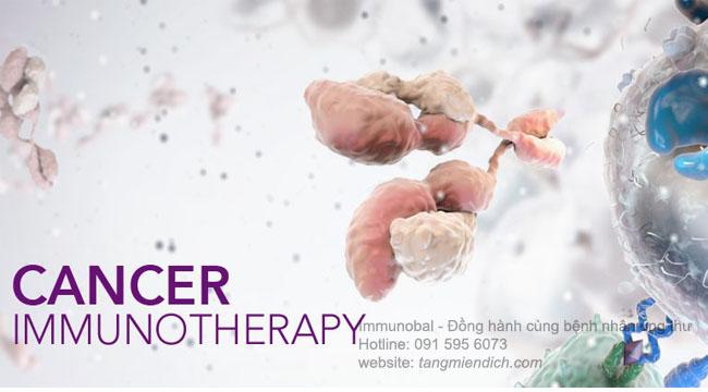 liệu pháp miễn dịch trong điều trị ung thư 01