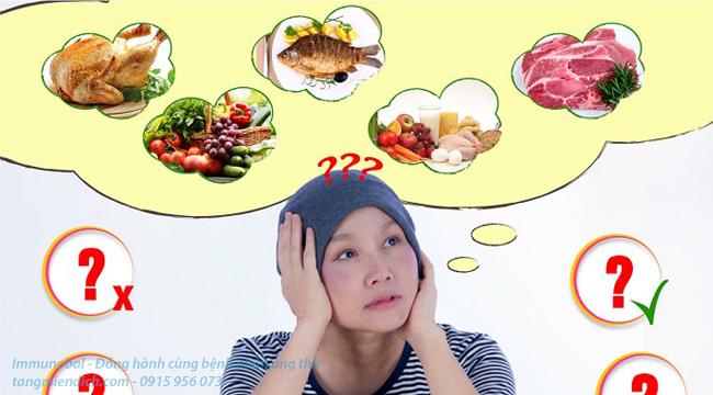 người bị ung thư nên ăn gì