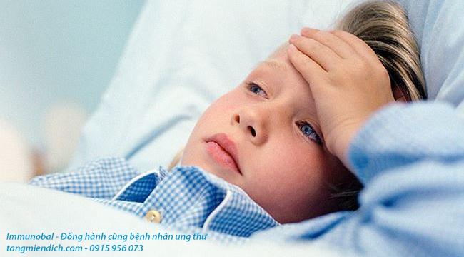 đông trùng hạ thảo cho trẻ em